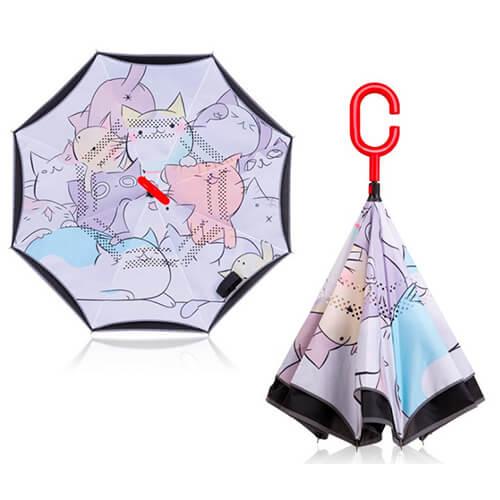 19- Kids Inverted Umbrella Upside Down Umbrella-3