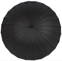 24 ribs umbrella surface