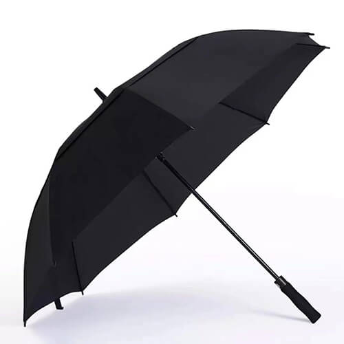 30 Inches Double Layers Fabric Vent Golf Umbrella