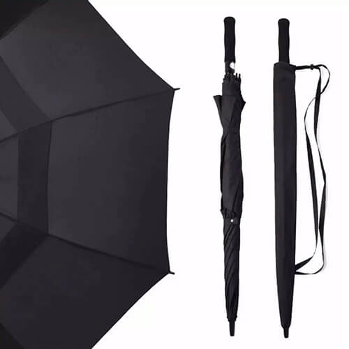 30 Inches Double Layers Fabric Vent Golf Umbrella2
