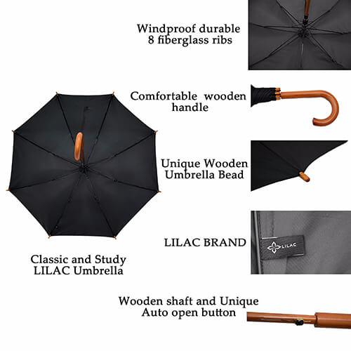Custom-Price-Wooden-Beach-Handle-Wood-Long Handle-umbrella (4)