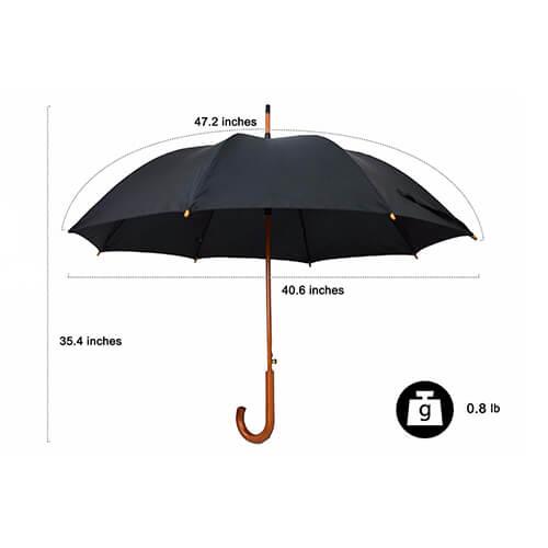 Custom-Price-Wooden-Beach-Handle-Wood-Long Handle-umbrella
