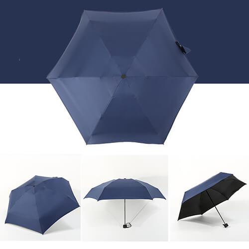 Five Folding Mini Umbrellas With UV Protect1