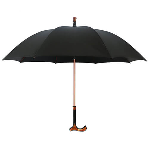Functional Walking Stick Crutch Straight Umbrella 4