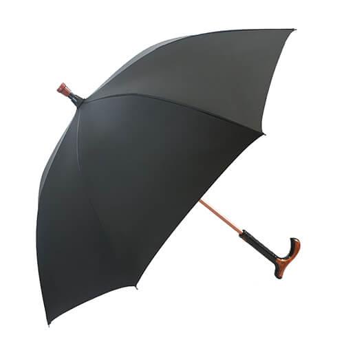 Functional Walking Stick Crutch Straight Umbrella 5