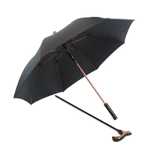 Functional Walking Stick Crutch Straight Umbrella.jpg