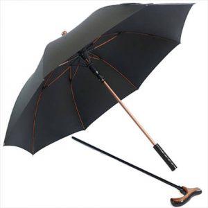 Functional Walking Stick Crutch Straight Umbrella7