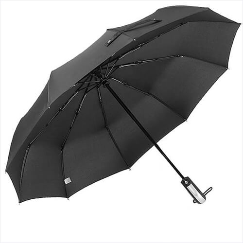 Hot Compact 10 Ribs Automatic Travel Umbrella(8)