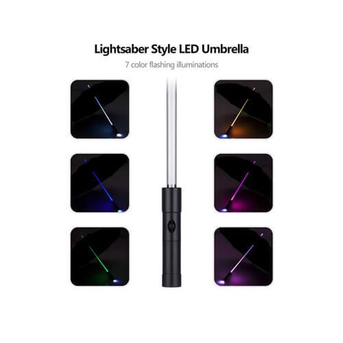 Hot Sale Promotional Customized LED Golf Umbrella6