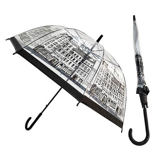 Hot selling custom clear umbrellas