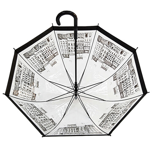 Hot selling custom clear umbrellas (3)