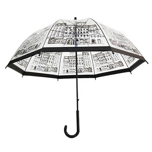 Hot selling custom clear umbrellas 5