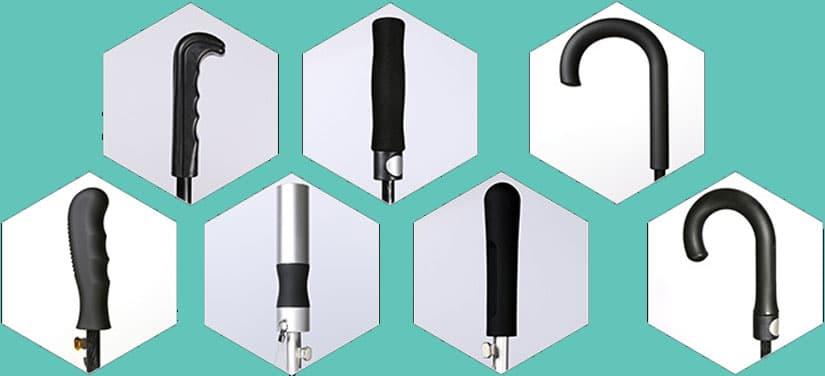 Walking-umbrella-handle