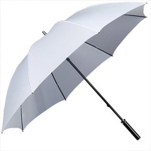 White-umbrellas