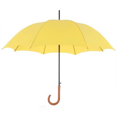Wooden crooked handle customized gentleman straight umbrella1的副本
