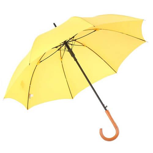 Wooden crooked handle customized gentleman straight umbrella2