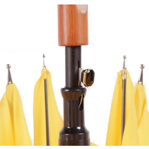 Wooden crooked handle customized gentleman straight umbrella3