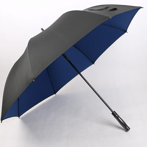 black-and-blue-best-promotional-golf-umbrellas-for-wind-and-rain-
