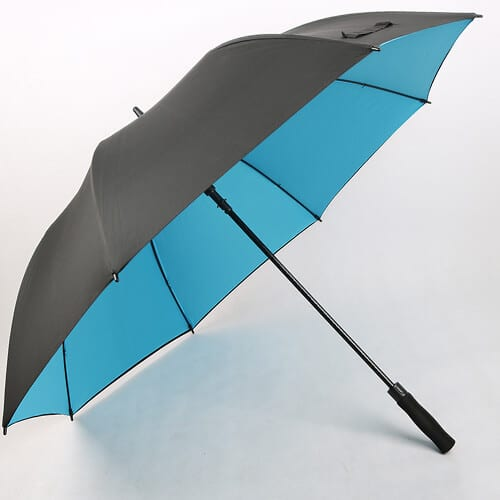 black-and-green-best-promotional-golf-umbrellas-for-wind-and-rain-