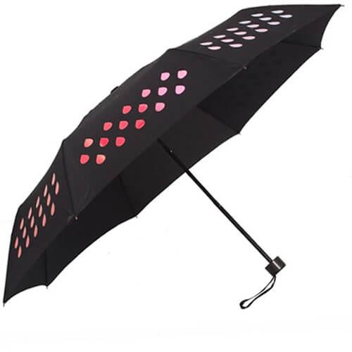 magic umbrella change color when wet umbrella