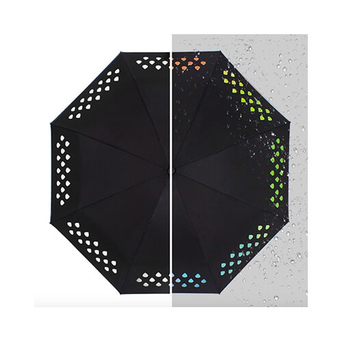 magic umbrella change color when wet umbrella6